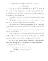 LOẠI HÌNH SẢN XUẤT VÀ PHƯƠNG PHÁP TỔ CHỨC SẢN XUẤT PHÙ HỢP VỚI DOANH NGHIỆP ĐỂ THẤY RÕ ĐƯỢC TẦM QUAN TRỌNG CỦA NÓ TRONG DOANH NGHIỆP