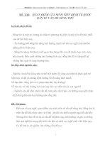 QUAN ĐIỂM CỦA SINH VIÊN KINH TẾ QUỐC DÂN VỀ VẤN ĐỀ SỐNG THỬ