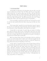 Thi pháp nhân vật trong Truyện Kiều của Nguyễn Du