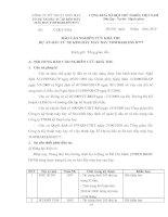 BÁO CÁO NGHIÊN CỨU KHẢ THI  DỰ ÁN ĐẦU TƯ XE KÉO ĐẨY MÁY BAY TOWBARLESS B777