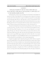 TĂNG CƯỜNG HIỆU LỰC QUẢN TRỊ CHẤT LƯỢNG DỊCH VỤ KH TẠI CÔNG TY TNHH CHÂU LỤC