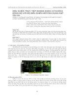 Phối hợp các thiết bị bảo vệ và tự động hóa trong lưới điện trung áp