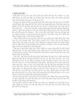 RÈN KĨ NĂNG ĐỌC THÀNH TIẾNG CHO HỌC SINH LỚP 1 Ở TRƯỜNG TIỂU HỌC SỐ II QUẢNG SƠN