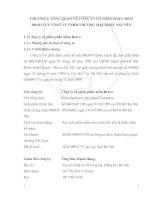 PHÁT TRIỂN HỆ THỐNG THÔNG TIN QUẢN LÝ VÀ HỆ THỐNG THÔNG TIN KẾ TOÁN BÁN HÀNG TRONG CÁC DOANH NGHIỆP THƯƠNG MẠI