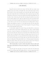 MỘT SỐ GIẢI PHÁP VỀ QUẢN LÝ NHẰM GÓP PHẦN NÂNG CAO HIỆU QUẢ HOẠT ĐỘNG KINH DOANH TẠI TRUNG TÂM THƯƠNG MẠI VÀ XUẤT NHẬP KHẨU THIẾT BỊ THỦY