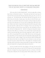 THUẾ GIÁ TRỊ GIA TĂNG VÀ THUẾ TIÊU THỤ ĐẶC BIỆT ĐỐI VỚI CÁC MẶT HÀNG THUỐC LÁ VÀ BIA RƯỢU NHẬP KHẨU