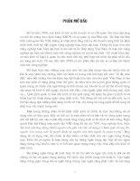 Hoạt động của hệ thống ngõn hàng thương mại Việt Nam - Thực trạng và giải phỏp