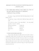 KHÁI QUÁT VỀ CÔNG TY SẢN XUẤT THƯƠNG MẠI & ĐẦU TƯ ANH DŨNG ( ADC )