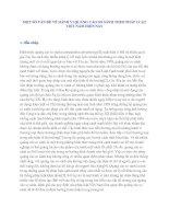 MỘT SỐ VẤN ĐỀ VỀ HÀNH VI QUẢNG CÁO SO SÁNH THEO PHÁP LUẬT VIỆT NAM HIỆN NAY