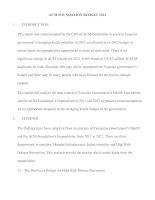 Mini report - Bài mẫu (2)