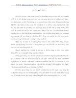 GIẢI PHÁP PHÁT TRIỂN HỢP TÁC XÃ CÔNG NGHIỆP - TIỂU THỦ CÔNG NGHIỆP Ở HÀ NỘI