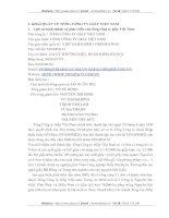 ĐÁNH GIÁ KẾT QUẢ HOẠT ĐỘNG SẢN XUẤT KINH DOANH CỦA TỔNG CÔNG TY GIẤY VIỆT NAM
