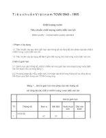 Tiêu chuẩn Việt nam TCVN 5943 - 1995   Chất lượng nước  Tiêu chuẩn chất lượng nước biển ven bờ
