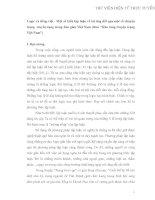 """Logic và tiếng việt - Một sốkiểu lập luận vềtài  ứng  đối qua một sốchuyện  trạng truyền tụng trong dân gian Việt Nam (theo """"Kho tàng truyện trạng  Việt Nam"""")"""
