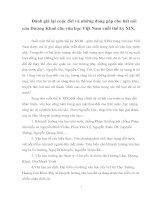 Đánh giá lại cuộc đời và những đóng góp cho hát nói  của Dương Khuê cho văn học Việt Nam cuối thế kỷ XIX