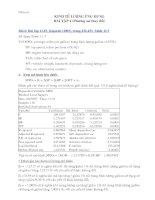 Bài tập kinh tế lượng 5