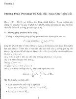 Một phương pháp proximal điểm trong cho bài toán cực tiểu lồi và cho bất đẳng thức biến phân 5