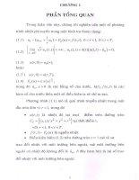 phần tổng quan về nghiên cứu một số phương trình nhiệt phi tuyến trong không gian sobolev có trọng