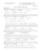 Hướng dẫn giải chi tiết đề thi đại học vật lý khối A năm 2010