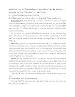 CƠ SỞ LÝ LUẬN VỀ HỢP ĐỒNG XUẤT KHẨU CỦA CÁC DOANH NGHIỆP TRONG NỀN KINH TẾ THỊ TRƯỜNG