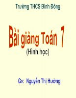 T/c 3 trung tuyến