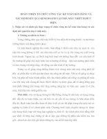 HOÀN THIỆN TỔ CHỨC CÔNG TÁC KẾ TOÁN BÁN HÀNG VÀ XÁC ĐỊNH KẾT QUẢ KINH DOANH TẠI NHÀ MÁY THIẾT BỊ BƯU ĐIỆN