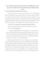 THỰC TRẠNG HOẠT ĐỘNG XÂY TRUYỀN TẢI PHIM QUẢNG CÁO TẠI CÔNG TY DỊCH VỤ TRUYỀN THANH TRUYỀN HÌNH HÀ NỘI