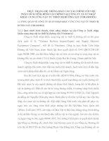 THỰC TRẠNG HỆ THỐNG BÁO CÁO TÀI CHÍNH VỚI VIỆC PHÂN TÍCH TÌNH HÌNH TÀI CHÍNH TẠI CÔNG TY XUẤT NHẬP KHẨU CUNG ỨNG VẬT TƯ THIẾT BỊ ĐƯỜNG SẮT (VIRASIMEX)