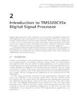 Real-Time Digital Signal Processing - Chapter 2: Introduction to TMS320C55x Digital Signal Processor