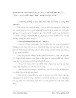 MỘT SỐ BIỆN PHÁP ĐẨY MẠNH TIÊU THỤ SẢN PHẨM CỦA CÔNG TY CỔ PHẦN KHÍ CÔNG NGHIỆP VIỆT NAM