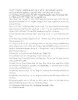 THỰC TRẠNG TRIỂN KHAI DỊCH VỤ E- BANKING TẠI CHI NHÁNH NGÂN HÀNG TMCP CÔNG THƯƠNG ĐÀ NẴNG