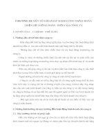 CHƯƠNG III MỘT SỐ GIẢI PHÁP MARKETING NHẰM HOÀN THIỆN HỆ THỐNG PHÂN  PHỐI CỦA CÔNG TY