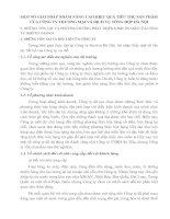 MỘT SỐ GIẢI PHÁP NHẰM NÂNG CAO HIỆU QUẢ TIÊU THỤ SẢN PHẨM CỦA CÔNG TY THƯƠNG MẠI VÀ DỊCH VỤ TỔNG HỢP HÀ NỘI