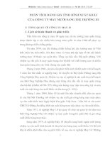 PHÂN TÍCH ĐÁNH GIÁ TÌNH HÌNH XUẤT KHẨU CỦA CÔNG TY MAY MƯỜI SANG THỊ TRƯỜNG EU