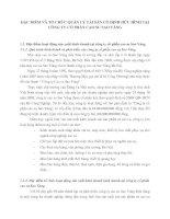 ĐẶC ĐIỂM VÀ TỔ CHỨC QUẢN LÝ TÀI SẢN CỐ ĐỊNH HỮU HÌNH TẠI CÔNG TY CỔ PHẦN CAO SU SAO VÀNG