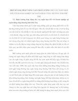 MỘT SỐ GIẢI PHÁP NÂNG CAO CHẤT LƯỢNG CHO VAY NGẮN HẠN ĐỐI VỚI DOANH NGHIỆP TẠI NGÂN HÀNG CÔNG THƯƠNG TỈNH PHÚ THỌ