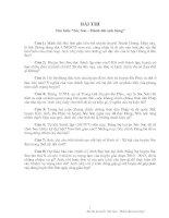 Bài dự thi: Sóc Sơn - Mảnh đất anh hùng