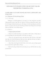 TỔNG QUAN VỀ TỔ CHỨC CÔNG TÁC KẾ TOÁN TẠI CHI NHÁNHCÔNG TYMEKONG AUTO