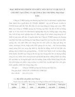 ĐẶC ĐIỂM SẢN PHẨM TỔ CHỨC SẢN XUẤT VÀ QUẢN LÝ CHI PHÍ TẠI CÔNG TY QUẢNG CÁO THƯƠNG MẠI ĐẠI LỘC