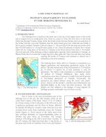 A discussion proposal on people''''s adaptability to floods in the Mekong river delta