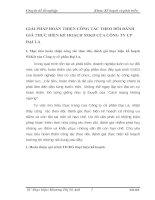 GIẢI PHÁP HOÀN THIỆN CÔNG TÁC THEO DÕI ĐÁNH GIÁ THỰC HIỆN KẾ HOẠCH SXKD CỦA CÔNG TY CP ĐẠI LA