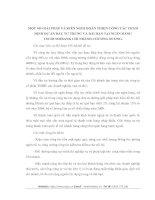 MỘT SỐ GIẢI PHÁP VÀ KIẾN NGHỊ HOÀN THIỆN CÔNG TÁC THẨM ĐỊNH DỰ ÁN ĐẦU TƯ TRUNG VÀ DÀI HẠN TẠI NGÂN HÀNG TECHCOMBANK CHI NHÁNH CHƯƠNG DƯƠNG