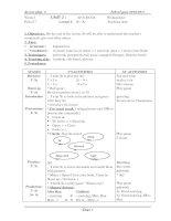Lesson plan 2010-2011 chuan class 6