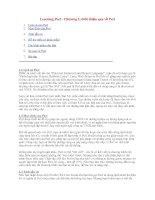 Ngôn ngữ Perl-Chương 01-Giới thiệu