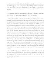 ĐỀ XUẤT MỘT SỐ KIẾN NGHỊ NHẰM HOÀN THIỆN CÔNG TÁC VĂN THƯ – LƯU TRỮ TẠI CÔNG TY CỔ PHẦN ĐẦU TƯ XÂY LẮP ĐIỆN HẢI PHÒNG