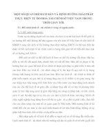 MỘT SỐ QUAN ĐIỂM CƠ BẢN VÀ ĐỊNH HƯỚNG GIẢI PHÁP THỰC HIỆN TỰ DO HOÁ TÀI CHÍNH Ở VIỆT NAM TRONG THỜI GIAN TỚI