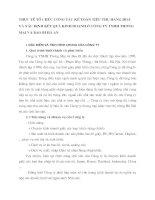 THỰC TẾ TỔ CHỨC CÔNG TÁC KẾ TOÁN TIÊU THỤ HÀNG HOÁ VÀ XÁC ĐỊNH KẾT QUẢ KINH DOANH Ở CÔNG TY TNHH THƯƠNG MẠI VÀ BAO BÌ HÀ AN