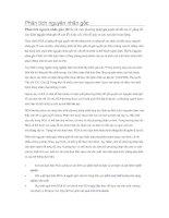 Báo cáo môn học Bảo dưỡng công nghiệp ĐHBKHN - Phân tích nguyên nhân gốc