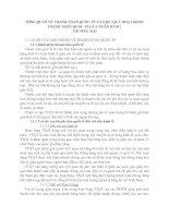 TỔNG QUAN VỀ THANH TOÁN QUỐC TẾ VÀ HIỆU QUẢ HOẠT ĐỘNG THANH TOÁN QUỐC TẾ CỦA NGÂN HÀNG