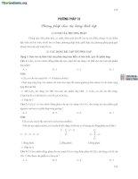 16 Phương pháp chọn đại lượng thích hợp_16